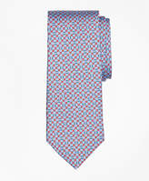 Brooks Brothers Flag and Raft Print Tie