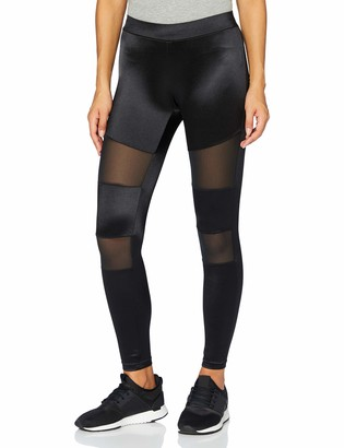Urban Classics Women's Ladies Shiny Tech Mesh Leggings