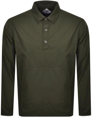 Barbour Beacon Ripstop Popover Shirt Green
