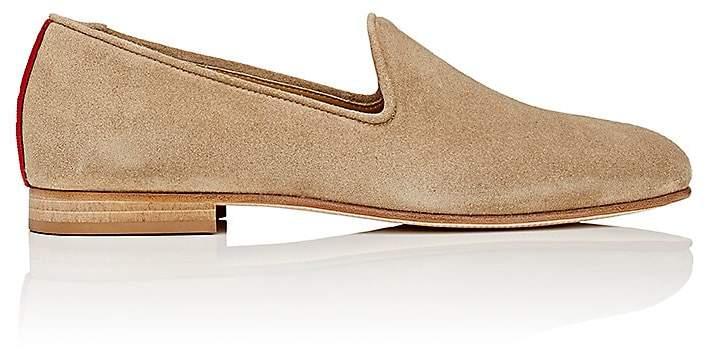 Del Toro Men's Prince U Suede Venetian Slippers