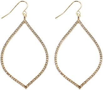 Panacea Marquise Crystal Earrings