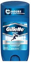 Gillette Sport Invisible Solid Anti-Perspirant & Deodorant, Training Day
