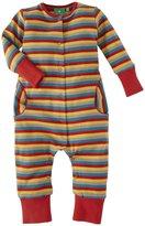 Little Green Radicals Multistripe Playsuit (Baby) - Stripes-6-9 Months