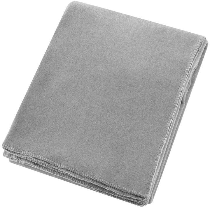 Zoeppritz since 1828 - Soft Fleece Blanket - Light Grey