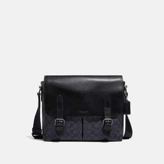 Coach Metropolitan Soft Messenger In Signature Canvas