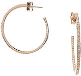 Nadri Pave Hoop Earrings