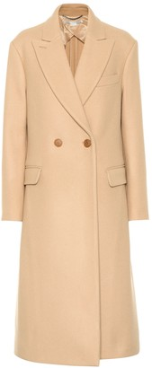 Stella McCartney Wool double-breasted coat