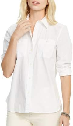 Lauren Ralph Lauren Long-Sleeve Cotton Shirt