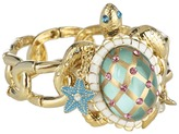 Betsey Johnson Jewels of the Sea Turtle String Bracelet (Green) - Jewelry