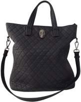 Philipp Plein Black Leather Handbag