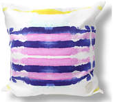 Kristi Kohut Sailor Stripes 18x18 Linen Pillow