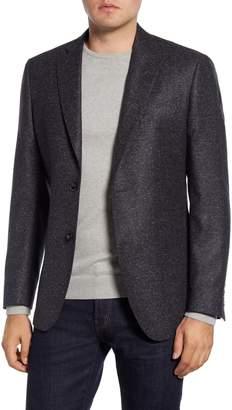 Nordstrom Signature Trim Fit Solid Wool & Silk Sport Coat