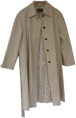 Prada Beige Cotton Trench coats