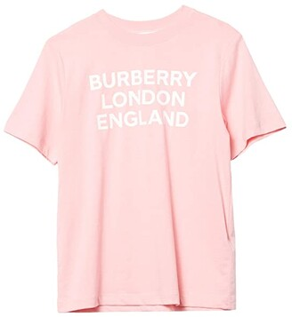 BURBERRY KIDS BLE Tee (Little Kids/Big Kids) (Candy Pink) Girl's Clothing