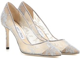 Jimmy Choo Memento Romy 85 Lace Pumps