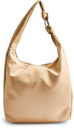 Topshop Oversize Knot Hobo Bag