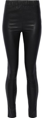 Walter Baker Roxanna Leather Skinny Pants