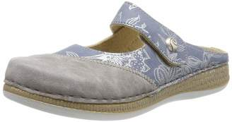 Fischer Damen Tanja Mules Gray 80) 39 EU 5.5 UK