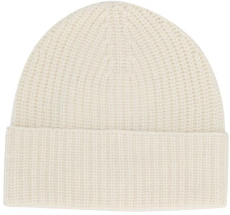 Agnona Cashmere Knitted Beanie Hat