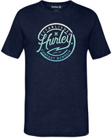 Hurley Men's Drifters Premium Graphic-Print Logo T-Shirt