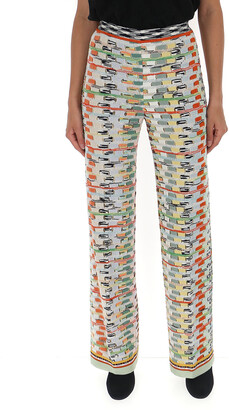 Missoni Knitted Patterned Trousers