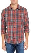 Faherty Men's Seaview Trim Fit Plaid Sport Shirt