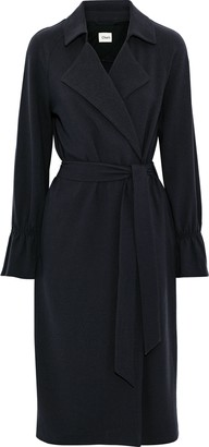 Charli Makenna Stretch-crepe Trench Coat