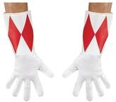 Morris Costumes Red Ranger Adult Gloves