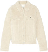 MM6 MAISON MARGIELA Teddy faux shearling jacket