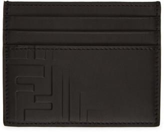 Fendi Black Forever Fade Card Holder