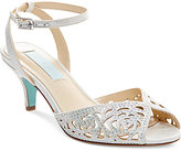 Blue by Betsey Johnson Raven Evening Sandals