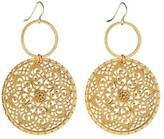 Gemma Collection Large Gold Earrings