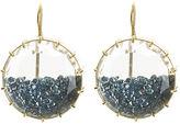 Renee Lewis Blue Diamond Shake Earrings