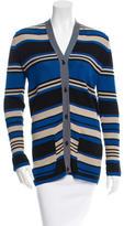 Lanvin Stripe Pattern Cardigan w/ Tags