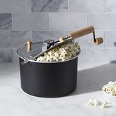 Crate & Barrel Stovetop Popcorn Popper Black