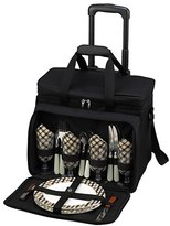 Picnic at Ascot London Picnic Cooler For Four On Wheels 30300