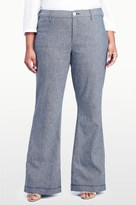NYDJ Claire Trouser In Textured Linen Twill In Plus