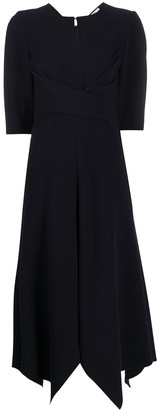 Schumacher Dorothee handkerchief hem dress