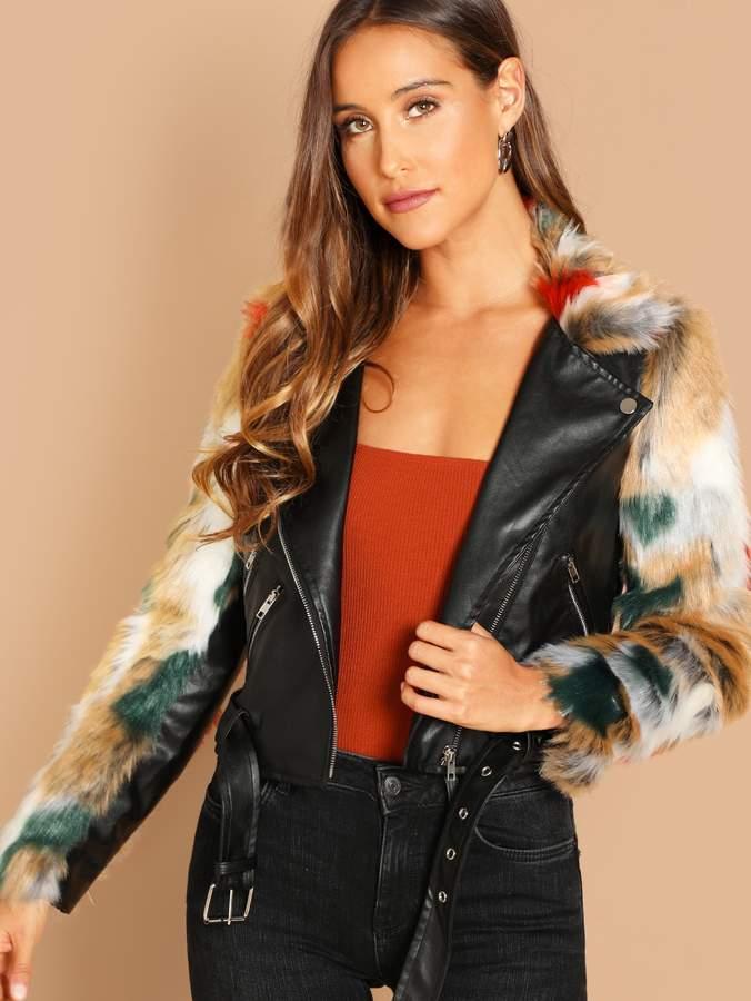 8a29a316db Shein Fur & Shearling Coats - ShopStyle