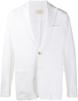 Altea Textured Single-Breasted Blazer