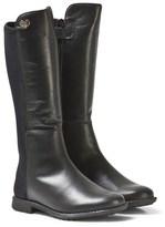 Stuart Weitzman Black Tall Leather Boots