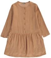 Emile et Ida Lurex Checked Button-Up Dress