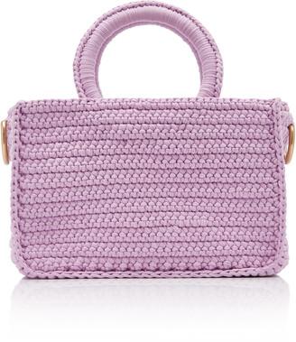 MIZELE Muze Braided Cotton Top-Handle Bag