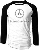 Ring Men's Mercedes Benz Racing Formula One Team Raglan Sleeve T-shirts Long