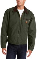 Carhartt Men's Big & Tall Blanket Lined Sandstone Detroit Jacket J97