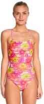 Speedo Women's Pro LT Flyback Floral Flow One Piece Swimsuit 8148578