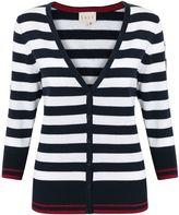 East Combination Stripe Cardi