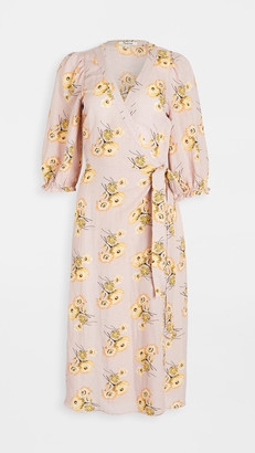 Madewell Floral Wrap Dress