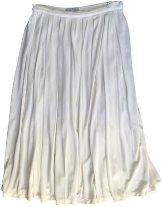 Emmanuelle Khanh Ecru Skirt for Women Vintage