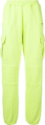 Off-White Pocket-Detail Elasticated Track Pants